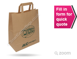 Taped Handle Paper Carrier Bags